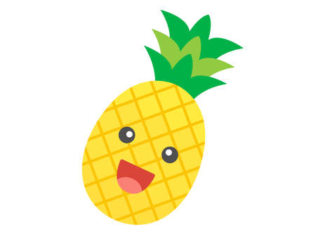 Illustrations of Pineapple Characters