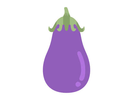 Illustration of an eggplant Illusztráció