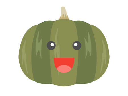 Illustrations of pumpkin character