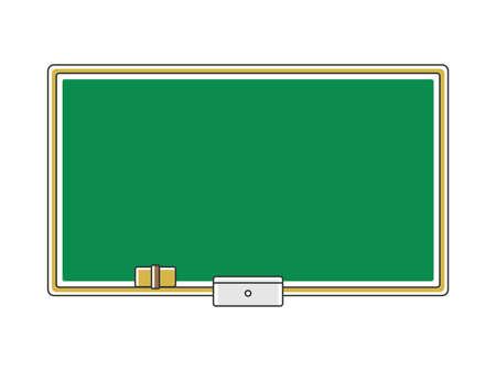 School blackboard illustration Illustration