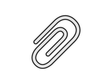 Clip icon illustration