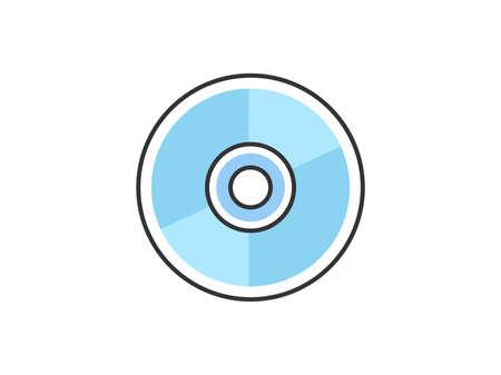 Disk icon illustration