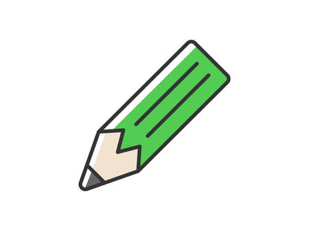 Pencil Icon Illustration Illustration