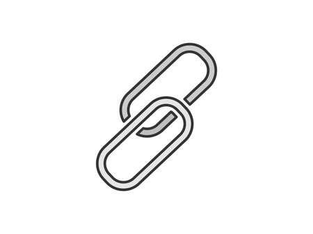 Link chain icon illustration Illustration