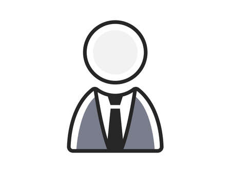 Businessman icon illustration Ilustrace