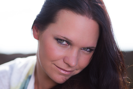 portrait woman girl