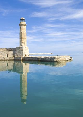 kreta: Lighthouse in Crete