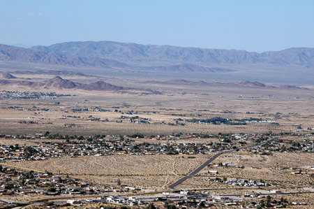 A view of southern California from one of the local mountain ranges.