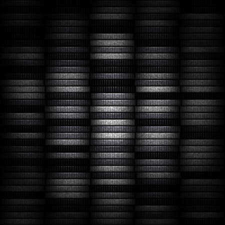 coin stack: Money. Coin stack as modern background Stock Photo