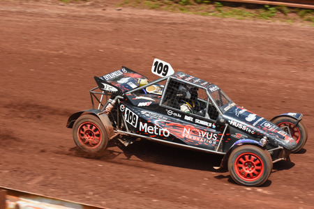 super cross: 1st - 2nd  of July 2017, Fuchs Oil Autocross in Nova Paka, FIA  European Championships, Czech Republic. Buggy cars and Super buggy. Autocross event.