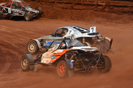 1st - 2nd  of July 2017, Fuchs Oil Autocross in Nova Paka, FIA  European Championships, Czech Republic. Buggy cars and Super buggy. Autocross event.