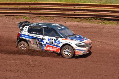 1st - 2nd  of July 2017, Fuchs Oil Autocross in Nova Paka, FIA  European Championships, Czech Republic. WRC and modified factory cars. Autocross event.