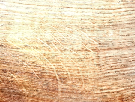 Detail of pine wooden board. Natural rustic wood background with pine structure and  knots Stock Photo