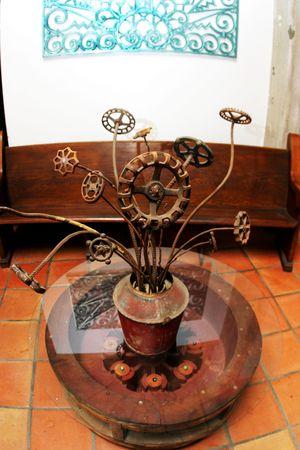 Bouquest de objetos reciclados Foto de archivo - 2307608