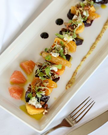 Citrus fruit appetizer