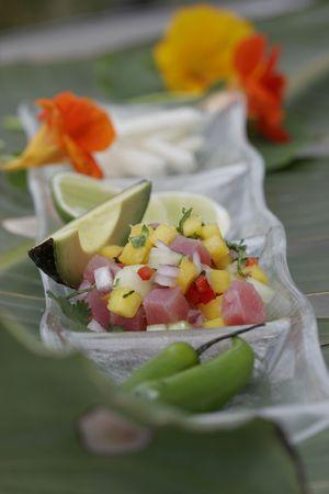 epicurean: Passionfruit Ceviche