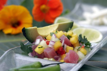 Passionfruit Ceviche Stock Photo - 2307460