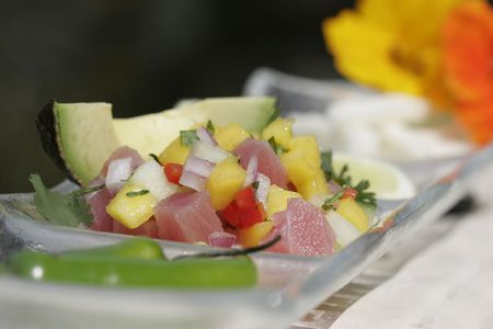 Passionfruit Ceviche Stock Photo - 2307499