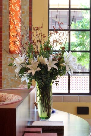 Centerpiece of Day Lilies
