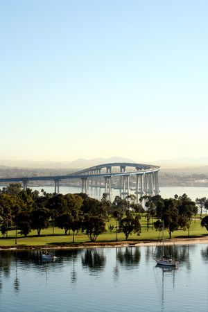 The Coronado Bay Bridge Stock Photo