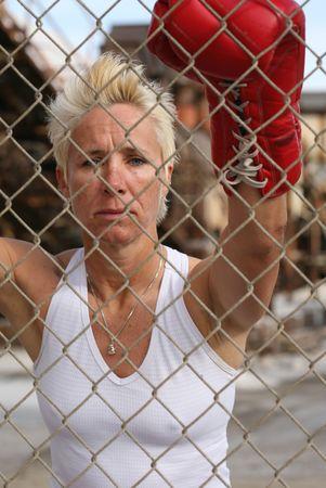 Female boxer photo