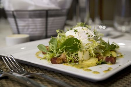 Salad appetizers from Chef David McIntyre