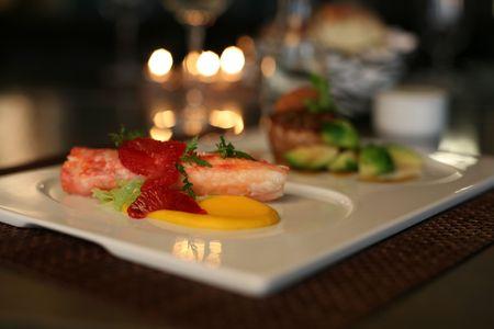 Fine dining photo