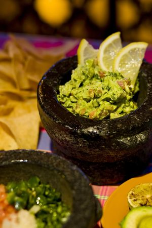 mexicans: Freshly made table side guacamole