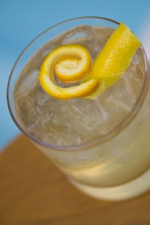 Refreshing summertime cocktails and mocktails served poolside
