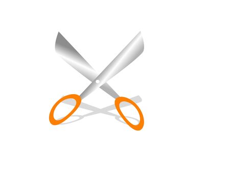 scissor on isolated background Stok Fotoğraf - 3307319
