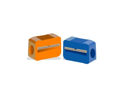 sharpeners on isolated background Banco de Imagens - 3307311