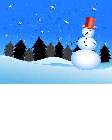 snowman in ice     Stok Fotoğraf