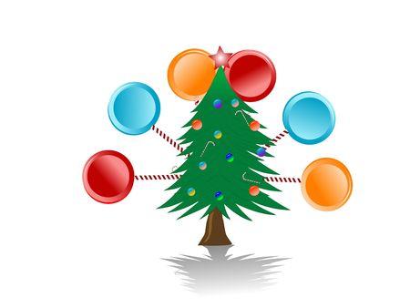 kerstboom met ManSalmiakknotsen