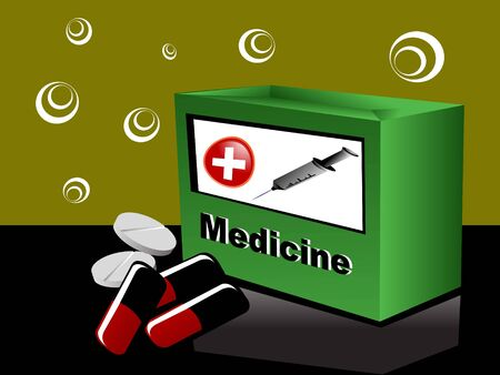 geneeskunde vak en pillen