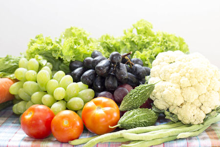 organics: Healthy  organic Vegetables and fruit