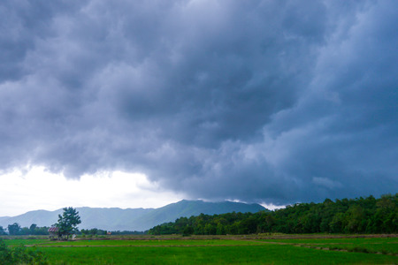 storm coming: Storm coming Stock Photo