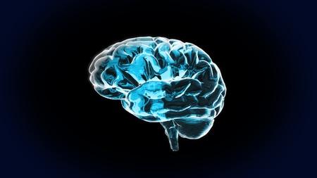 zenuwcel: Pure Crystal Brain is de beste manier voor een medische theme.IQ concept, het idee van de CPU processing.