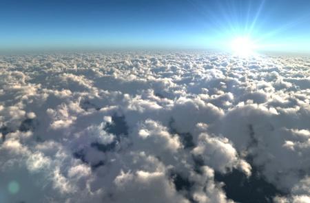 sky clouds Stock Photo - 11193835