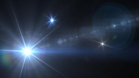 lumieres: lumi�re du flash et torche th�me peut �tre utilis� dans la mode, concert, spectacle, sport match de Banque d'images