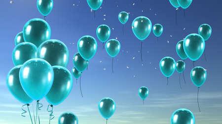 balloon in the sky photo
