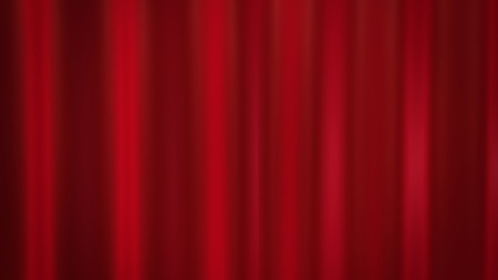 red curtains background for the theatre   photo