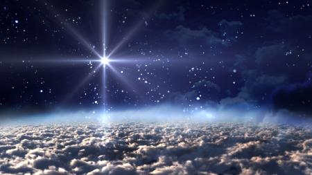 nacimiento de jesus: la noche estrellada