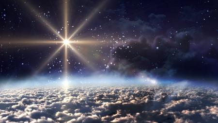 raumschiff: Sternennacht �ber der Rhone
