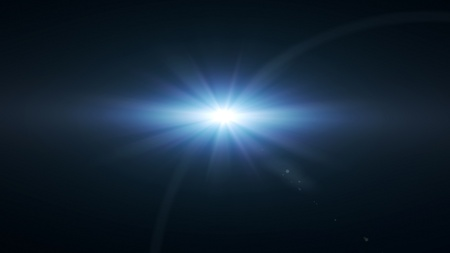 lens flare: lens flare effect