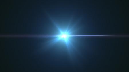 flare: lens flare effect