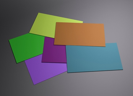 businesscard: The 3d scene could be fit with any name card design,Is the best for promotion of company brand image