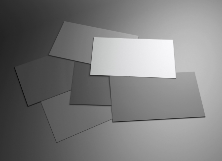 The 3d scene could be fit with any name card design,Is the best for promotion of company brand image Stock Photo - 20613185