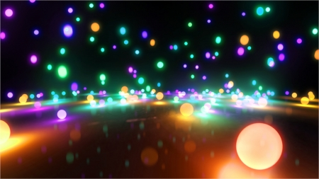 Bouncing light balls background
