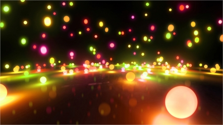 bouncing: Bouncing light balls background