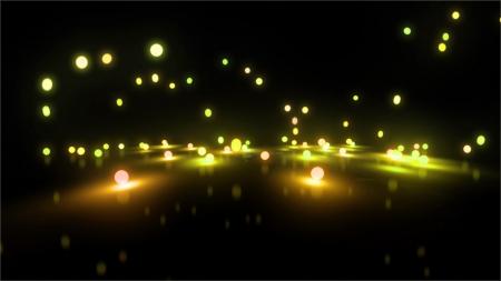 back lighting: Bouncing light balls background